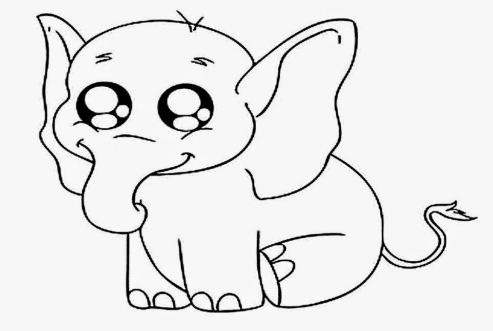 elephant coloring pages  HD Wallpapers