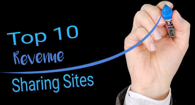 top 10 Google AdSense revenue sharing sites-revenue sharing sites for writers-best revenue sharing sites 2018-trusted revenue sharing sites