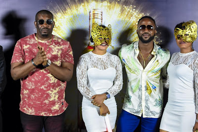 Exclusive photos from Don Jazzy's surprise birthday party last night