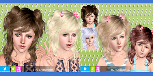 Free Chihuahua Hair by Newsea         ~          UTS3