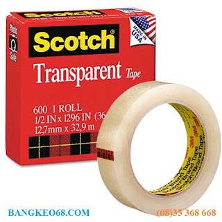 bang keo 3m scotch 600 1/2in