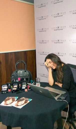 Aditi Rao Hydari launches Avon True Range on FB Live
