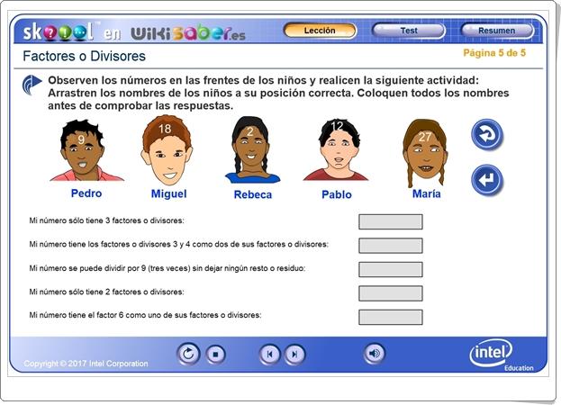 """""""Factores o Divisores"""" (Aplicación de Matemáticas)"""