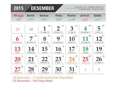 tanggal peringatan natal