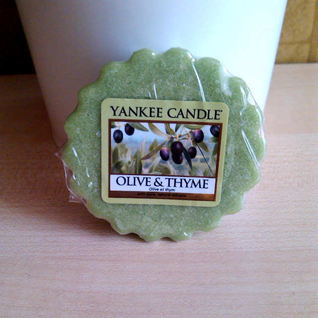 Yankee Candle, Olive & Thyme