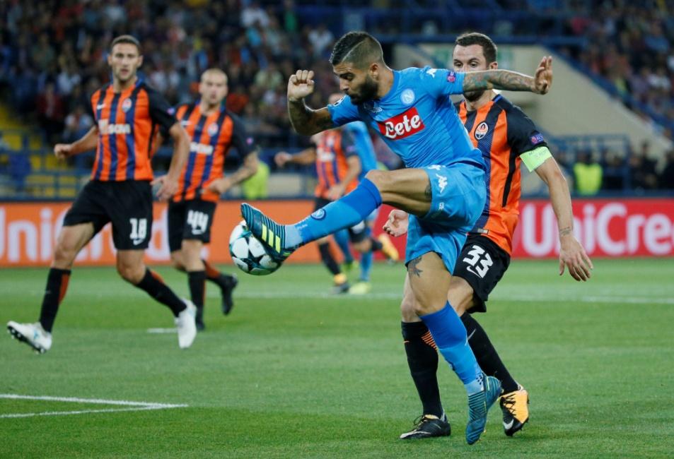 Dove Vedere NAPOLI-SHAKHTAR Streaming Video Diretta Online | Calcio Champions League