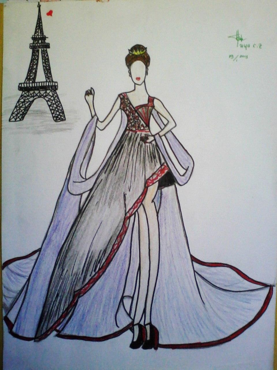 Gambar Desain Baju Batik Remaja - Koleksi Gambar HD