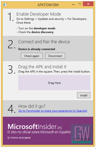 can lumia run android apps