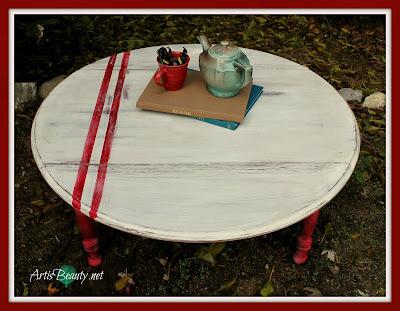Grain-sack-inspired-Coffee-Table-Makeover-art-is-beauty-farmhouse