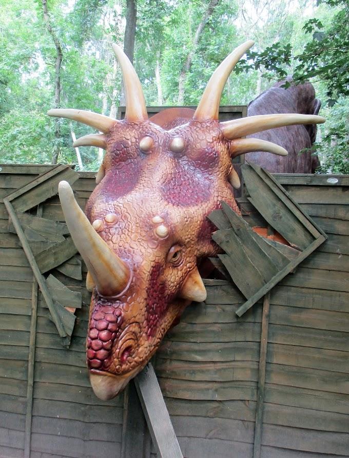 Port Lympne's Dinosaur Forest