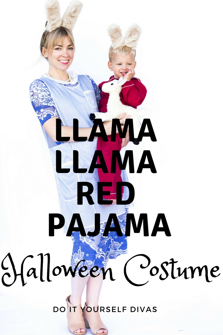 Do it yourself divas diy llama llama red pajama halloween costume try watching this video on youtube or enable javascript if it is disabled in your browser solutioingenieria Images