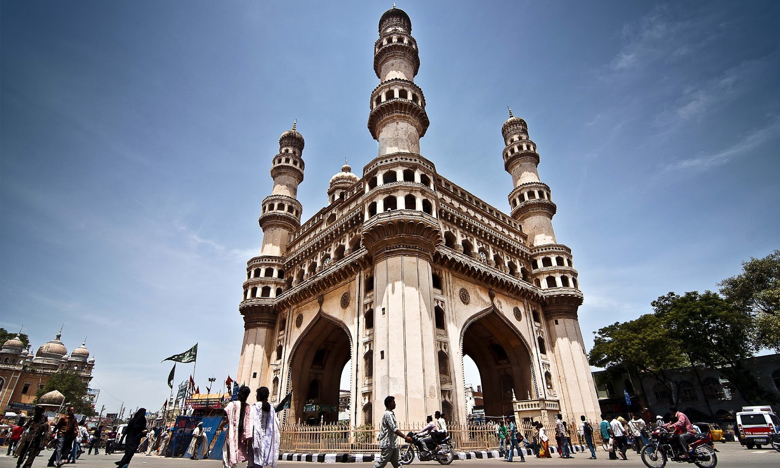 tourist map of Hyderabad travel guide