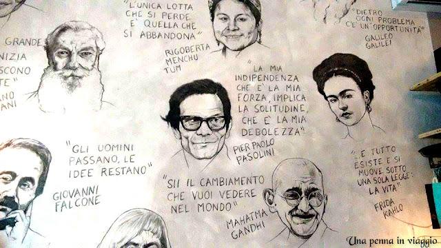 parete GESTO ristorante Firenze