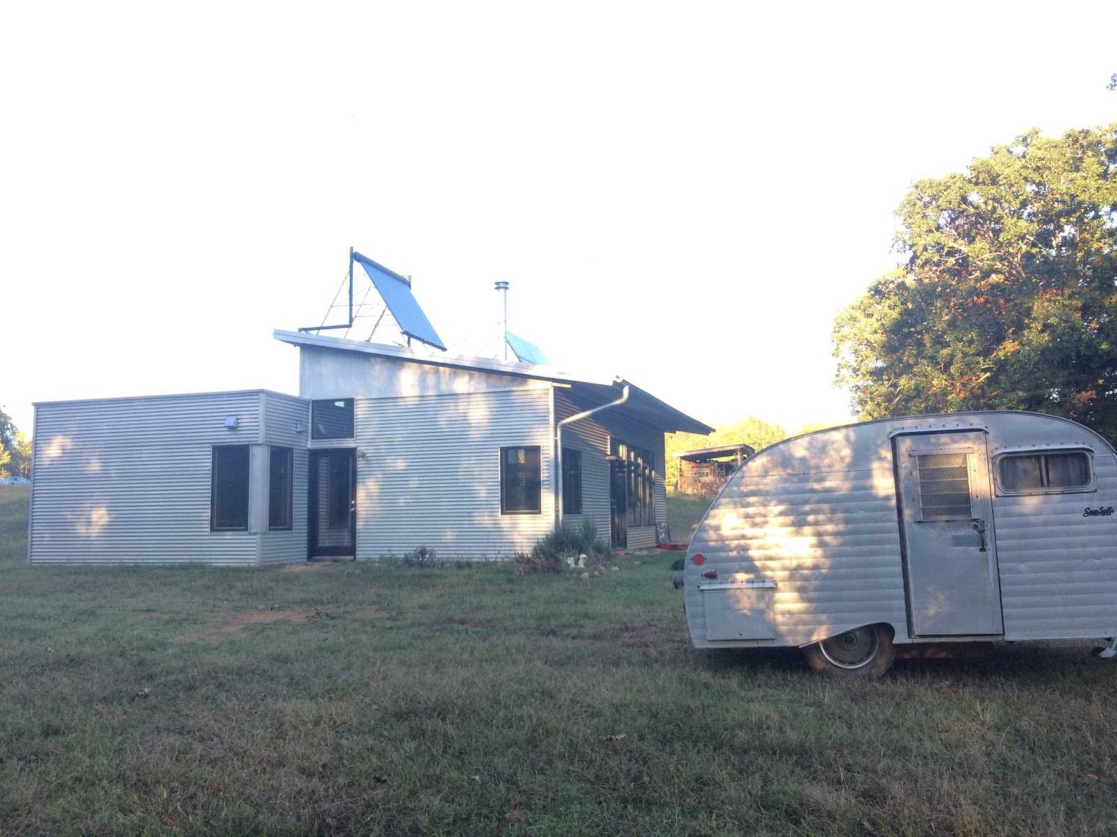 Off Grid Zero Energy Prefab Sip House Through Tornado