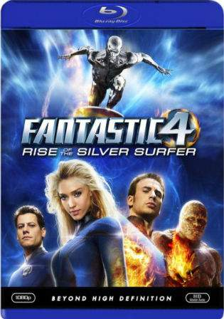 Fantastic Four Rise Of The Silver Surfer 2007 BRRip 300MB Dual Audio Watch Online Full Movie Download bolly4u