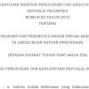 Permendikbud Nomor 82 tahun 2015 tentang pencegahan dan penanggulangan tindak kekerasan di lingkungan sekolah