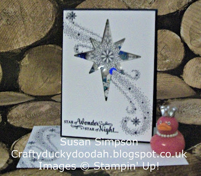 Stampin Up! UK Independent  Demonstrator Susan Simpson, Craftyduckydoodah!, Star of Light Photopolymer Bundle, Supplies available 24/7,