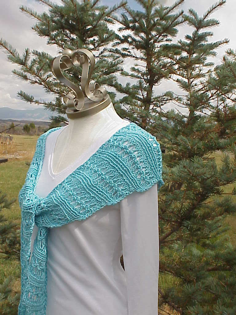 Kriskrafter Free Knitting Pattern Wiggle Lace Scarf