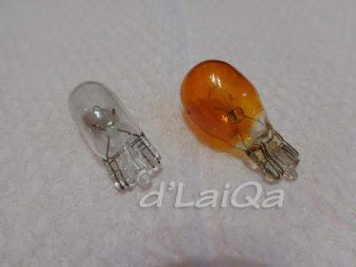 bohlam lampu senja dan bohlam lampu sein