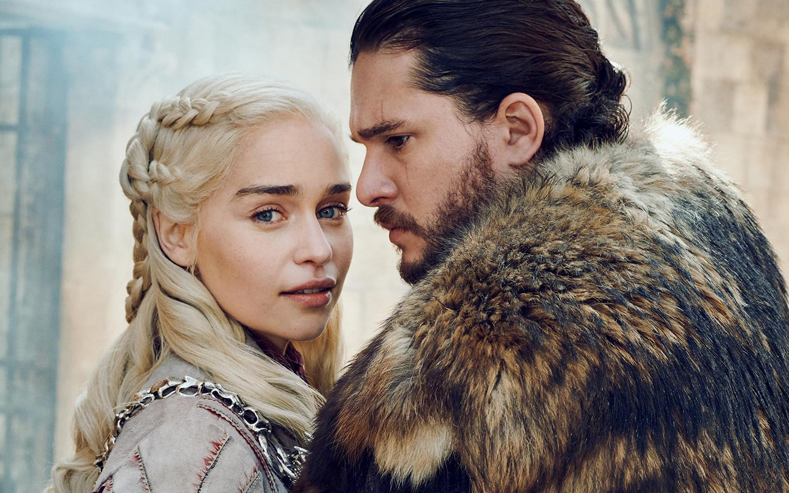 Daenerys Targaryen Jon Snow Game Of Thrones Season 8 4k