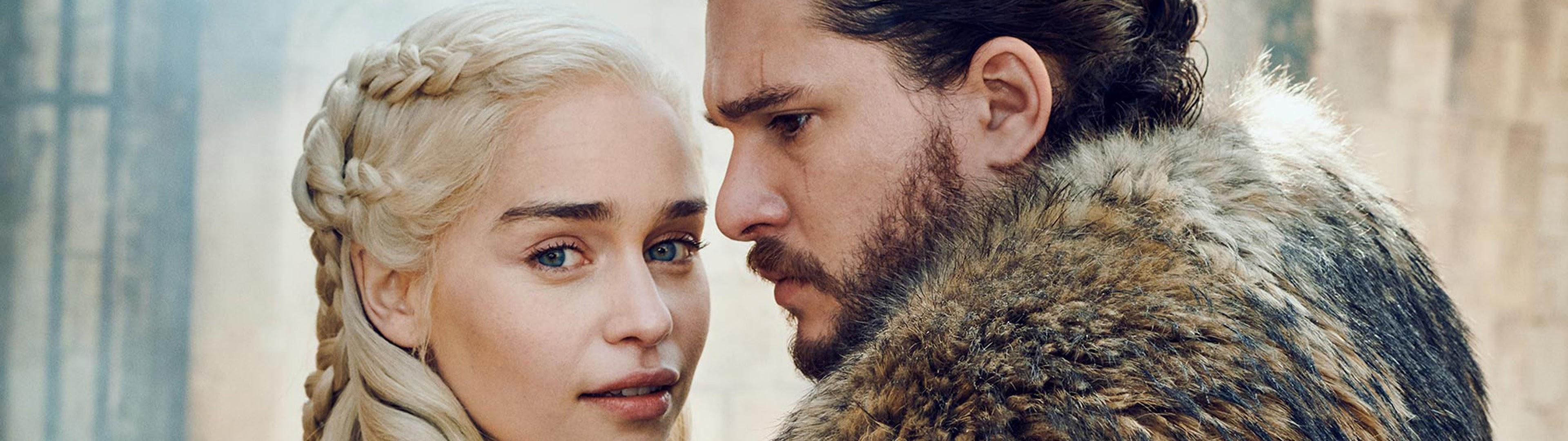 Daenerys Targaryen Jon Snow Game Of Thrones Season 8 4k Wallpaper 42