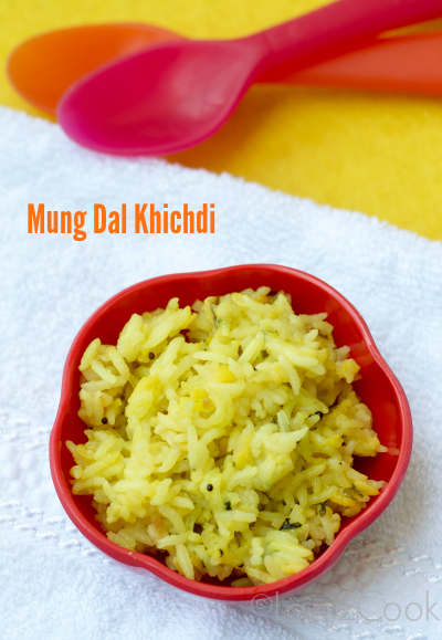 Simple Khichdi for babies