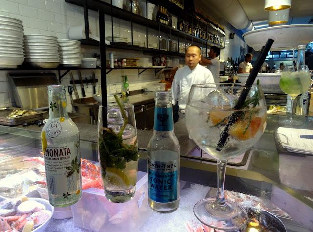 Gin & Tonic - The Seafood Bar in Amsterdam