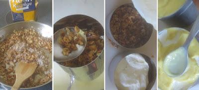 Zubereitung Haferflocken-Crunch-Boden