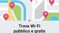 Accesso a reti Wi-Fi con l'app Facebook per collegarsi a internet in giro
