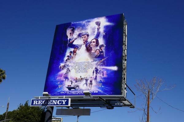 Ready Player One movie billboard