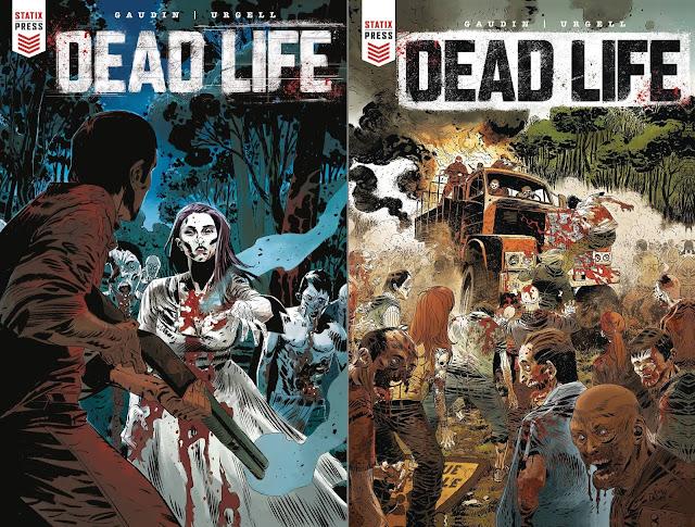 Dead Life (cover dei numeri 1 e 2)