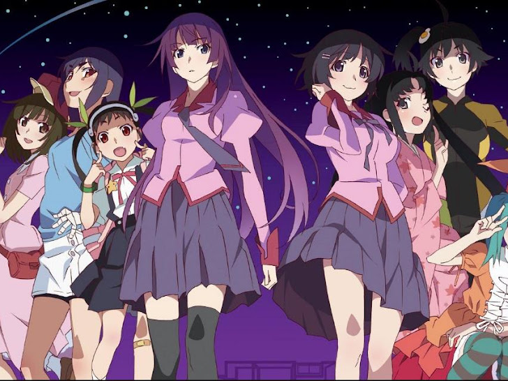Urutan Menonton Seri Anime Monogatari Sesuai Cerita dan Tanggal Rilis