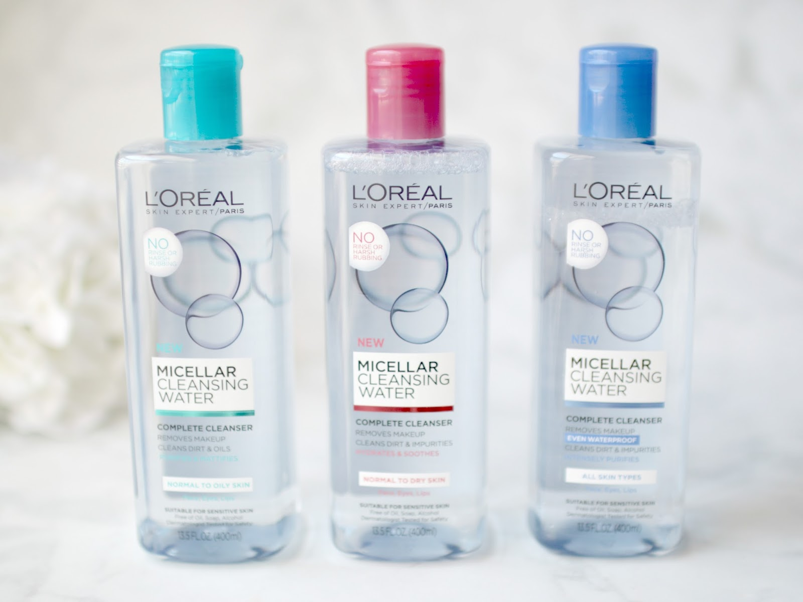 Elle Sees Beauty Blogger In Atlanta New Loreal Makeup Skincare L Oreal Micellar Water 250ml Blue Next Up I Found These Waters Im Pretty Sure Ive Reviewed Every Known To Man At This Point But Cant Help It