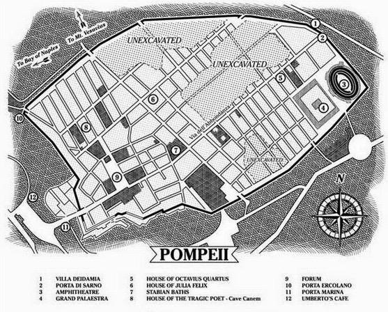 Kaitan Kota Pompeii dan Maksiat