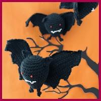 Pequeños vampiros amigurumi