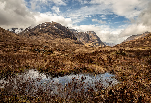 Photo of the Three Sisters in Glen Coe
