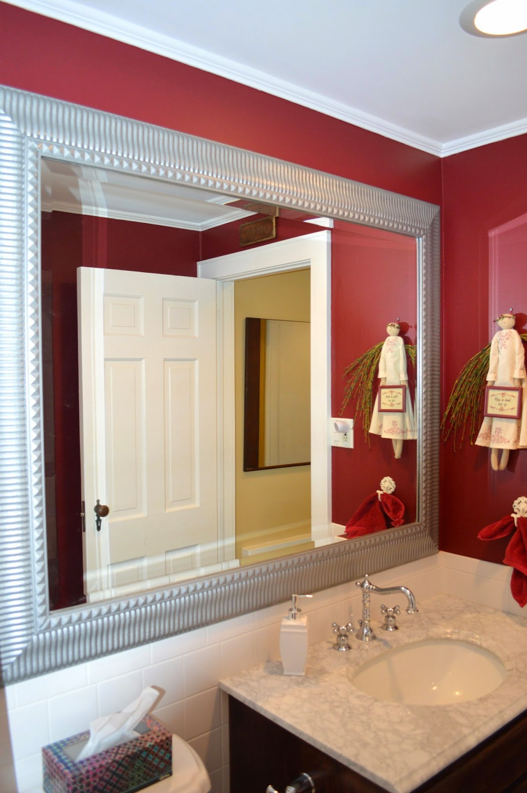 Exquisitely Unremarkable red mirror