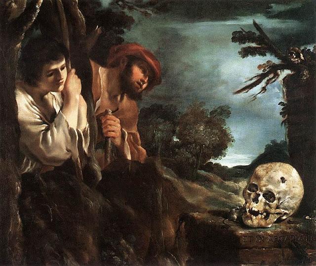 """""""Et in Arcadia ego""""  Guercino"""
