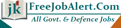 JKFreeJobAlert - J&K Govt Free Job Alert Latest Notification 2020