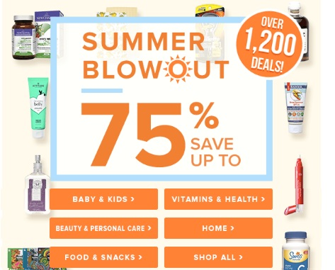 Well.ca Summer Blowout Up To 75% Off + $10 Off Promo Code