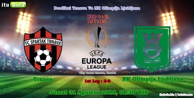 Prediksi Trnava Vs NK Olimpija Ljubljana - ituBola