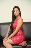 Shipra Gaur in Pink Short Micro Mini Tight Dress ~  Exclusive 083.JPG