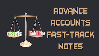 ADVANCE ACCOUNTS FAST-TRACK NOTES