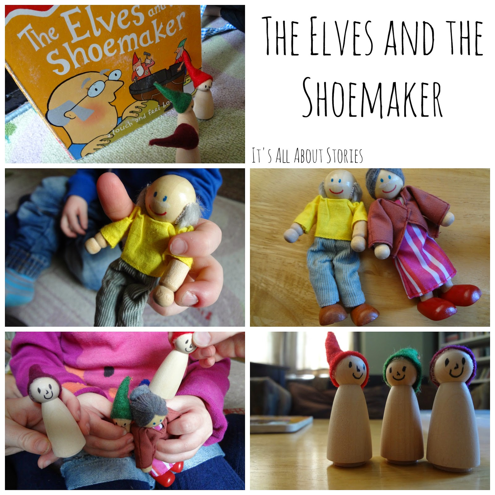 It S All About Stories The Elves And The Shoemaker