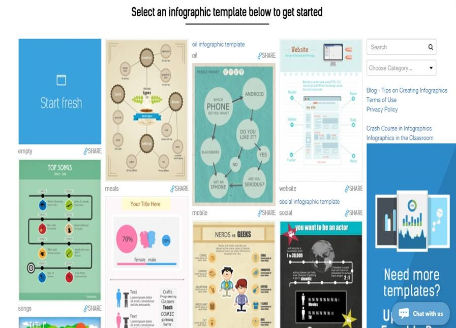 Infographic creation tips