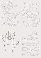 Dali-Lomo: Iron Man Hand DIY with cereal box (PDF template)