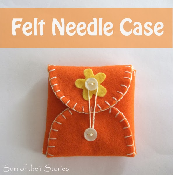How to make an easy felt needle case
