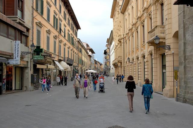 ulice Piza, jak zwiedzać? Toskania