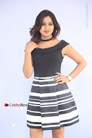 Actress Mi Rathod Pos Black Short Dress at Howrah Bridge Movie Press Meet  0045.JPG