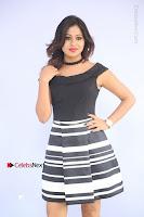 Actress Mi Rathod Pos Black Short Dress at Howrah Bridge Movie Press Meet  0045.JPG